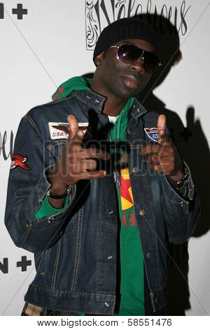HOLLYWOOD - APRIL 06: Sam Sarpong at Flaunt Magazine Presents Nefarious Fine Jewelry Hosted by Velvet Revolver at Black Steel Restaurant on April 06, 2006 in Hollywood, CA.