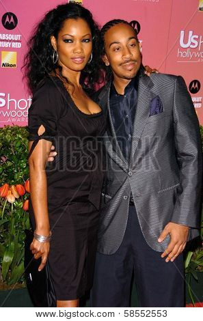 HOLLYWOOD - APRIL 26: Garcelle Beauvais and Ludacris at the US Weekly Hot Hollywood Awards at Republic Restaurant and Lounge on April 26, 2006 in West Hollywood, CA.