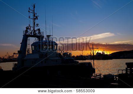 Tugboat In Gdynia