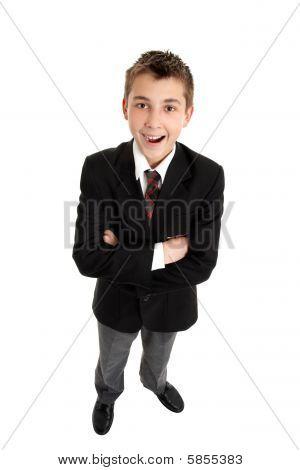 Smiling School Student