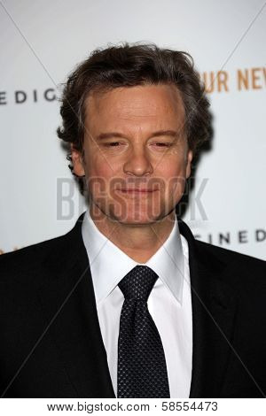 Colin Firth at the