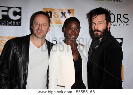 Gil Bellows, Olunike Adeliyi, Michael Eklund at the