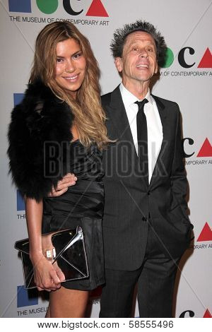Brian Grazer and guest at the MOCA Gala, MOCA Grand Avenue, Los Angeles, CA 04-20-13