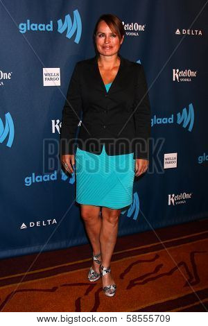 Crystal Chappell at the 24th Annual GLAAD Media Awards, JW Marriott, Los Angeles, CA 04-20-13