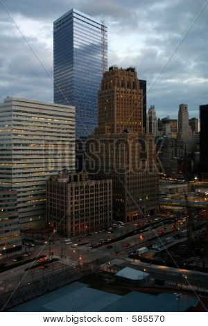 Office Towers In Lower Manhattan