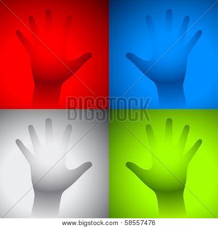 Hand Fog Glass