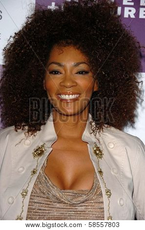 WESTWOOD - APRIL 19: Jody Watley at the 35th Birthday Celebration for Travel and Leisure Magazine in W Hotel on April 19, 2006 in Westwood, CA.