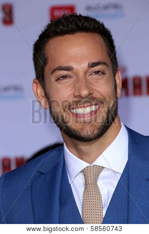 Zachary Levi at the