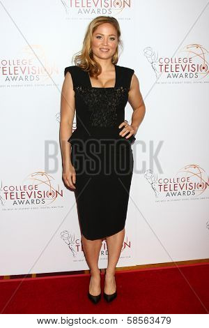 Erika Christensen at the 2013 College Television Awards, JW Marriott, Los Angeles, CA 04-25-13