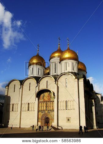 Cathedral Of The Dormition, Moscow Kremlin, Russia