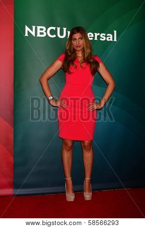 Chanel Omari at the 2013 NBC Universal Summer Press Day , Langham Huntington Hotel, Pasadena, CA 04-22-13