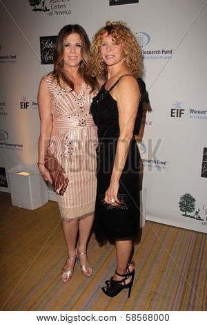 Rita Wilson and Kate Capshaw at An Unforgettable Evening Presented by Saks Fifth Avenue, Beverly Wilshire Hotel, Beverly Hills, CA 05-02-13