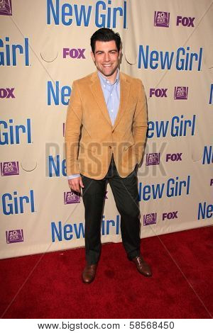 Max Greenfield at the