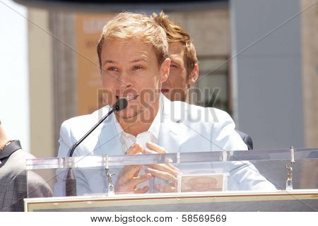 Brian Littrell at the