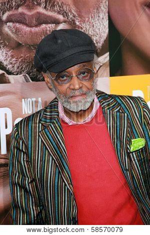 Melvin Van Peebles at the
