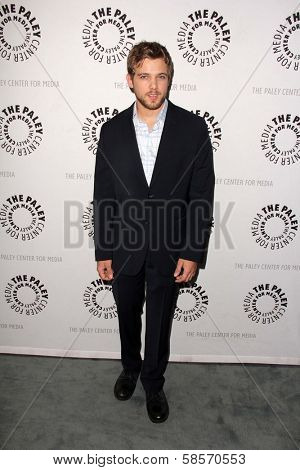Max Thieriot at Bates Motel: Reimagining A Cinema Icon, Paley Center for Media, Beverly Hills, CA  05-10-13
