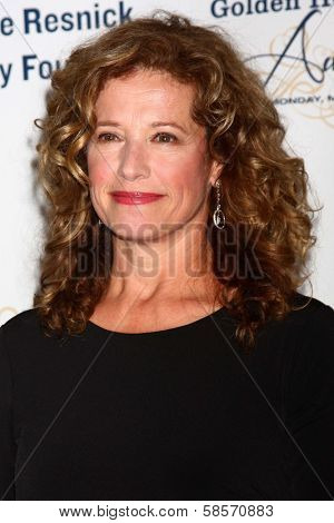 Nancy Travis at the 2013 Midnight Mission's