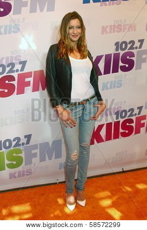 Katie Cassidy at the 2013 Wango Tango concert produced by KIIS-FM, Home Depot Center, Carson, CA 05-11-13