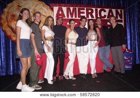 Degan Ford, Chris Owen, Monika Zsibrika, Danny Nucci, Natalie Raitano, Jason Cook, Ashley Lyn Cafagna,Jay Kenneth Johnson at Universal's