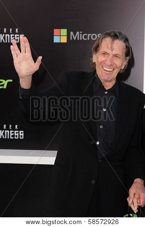 Leonard Nimoy at the