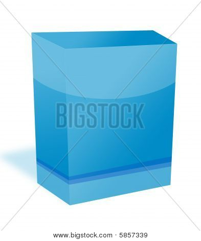 Blank Software Box