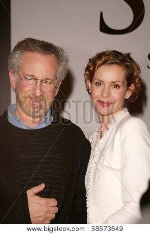 Steven Spielberg and Embeth Davidtz at the Legacy of