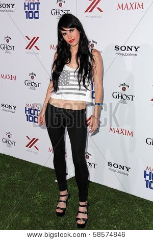 Christine Danielle Connolly at the 2013 Maxim Hot 100 Party, Vanguard, Hollywood, CA 05-15-13