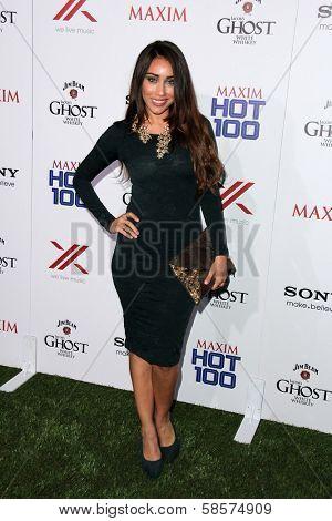 Korrina Rico at the 2013 Maxim Hot 100 Party, Vanguard, Hollywood, CA 05-15-13
