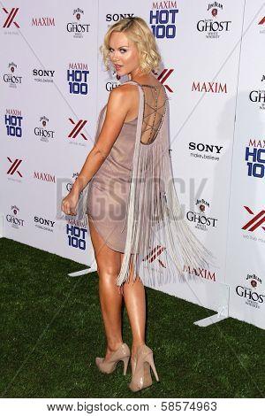 Anya Monzikova at the 2013 Maxim Hot 100 Party, Vanguard, Hollywood, CA 05-15-13