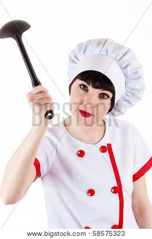 aggressive chef
