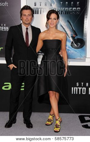 Len Wiseman, Kate Beckinsale  at the