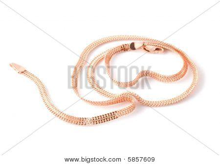 Flat Gold Chain