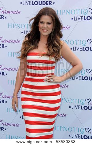 Khloe Kardashian at the HPNOTIQ Glam Louder Program Launch, Mr. C Beverly Hills, Beverly Hills, CA 05-22-13