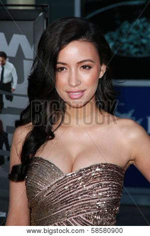 Christian Serratos at the