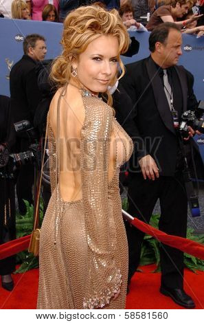 HOLLYWOOD - APRIL 28: Tracey E. Bregman at The 33rd Annual Daytime Emmy Awards at Kodak Theatre on April 28, 2006 in Hollywood, CA.