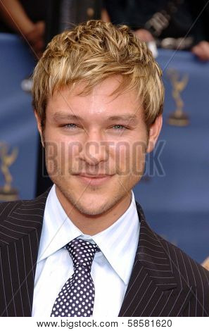 HOLLYWOOD - APRIL 28: Michael Graziadei at The 33rd Annual Daytime Emmy Awards at Kodak Theatre on April 28, 2006 in Hollywood, CA.