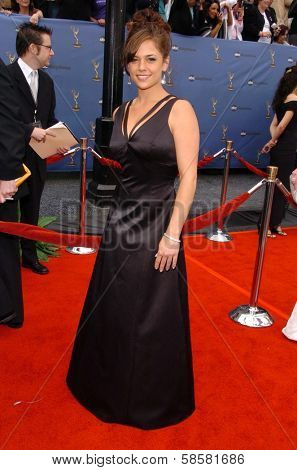 HOLLYWOOD - APRIL 28: Kelly Albanese at The 33rd Annual Daytime Emmy Awards at Kodak Theatre on April 28, 2006 in Hollywood, CA.