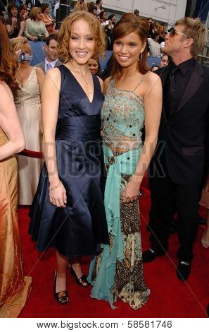 HOLLYWOOD - APRIL 28: Jennifer Ferrin and Mandy Bruno at The 33rd Annual Daytime Emmy Awards at Kodak Theatre on April 28, 2006 in Hollywood, CA.