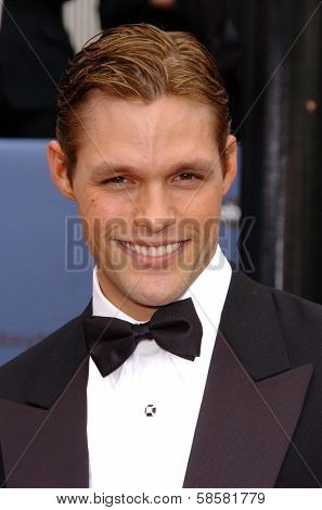 HOLLYWOOD - APRIL 28: Justin Bruening at The 33rd Annual Daytime Emmy Awards at Kodak Theatre on April 28, 2006 in Hollywood, CA.