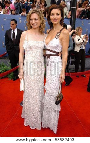 HOLLYWOOD - APRIL 28: Nicole Forester and Michelle Ray Smith at The 33rd Annual Daytime Emmy Awards at Kodak Theatre on April 28, 2006 in Hollywood, CA.