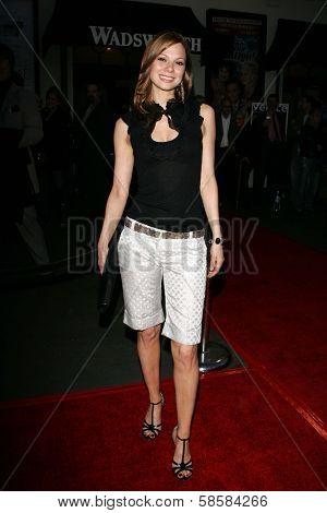 LOS ANGELES - APRIL 27: Tamara Braun at the Opening night of