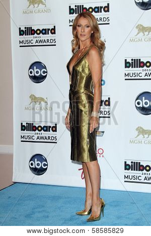 Celine Dion at the 2013 Billboard Music Awards Press Room, MGM Grand, Las Vegas, NV 05-19-13