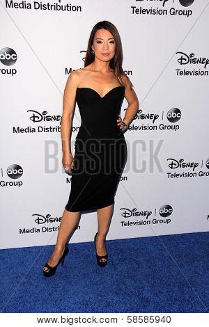 Ming-Na Wen at the Disney Media Networks International Upfronts, Walt Disney Studios, Burbank, CA 05-19-13