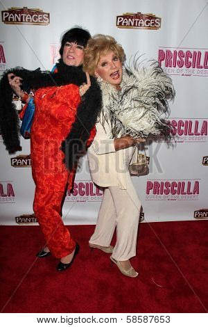Jo Anne Worley, Ruta Lee at the