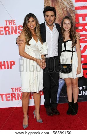 Shawn Levy and Family at