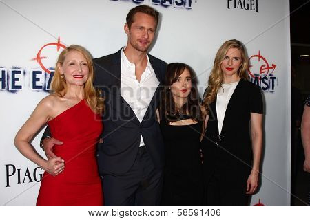 Patricia Clarkson, Alexander Skarsgard, Ellen Page and Brit Marling at