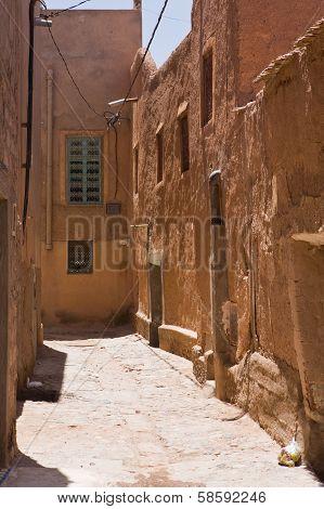 Narrow Street In Medina