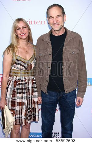 Marshall Herskovitz and guest at the WGA's 101 Best Written Series Announcement, Writers Guild of America Theater, Beverly Hills, CA 06-02-13