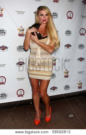 Taylor Wane at the Player Concert celebrating Devin DeVasquez 50th Birthday to benefit Shelter Hope Pet Shop, Canyon Club, Agoura, CA 06-03-13