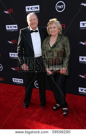 Dick Van Patten and wife Pat Van Patten at the AFI Life Achievement Award